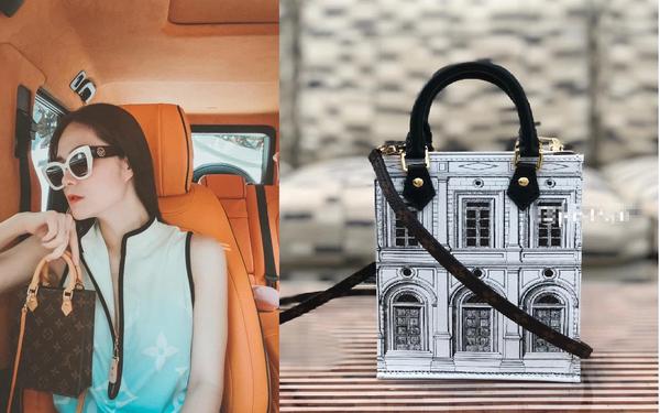 """Phát hiện Louis Vuitton có túi mới in hình giống biệt thự Thái Công thiết kế cho mình, nữ đại gia xây """"lâu đài"""" 400 tỷ đồng """"chốt đơn"""" luôn?"""