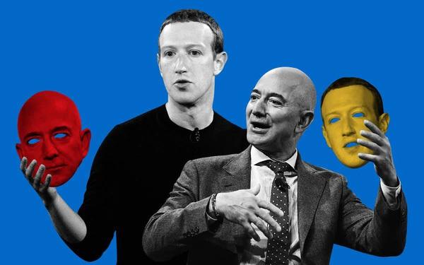 "Thấy meme chế nhạo Jeff Bezos trên Instagram, Mark Zuckerberg âm thầm ""thả tim"""