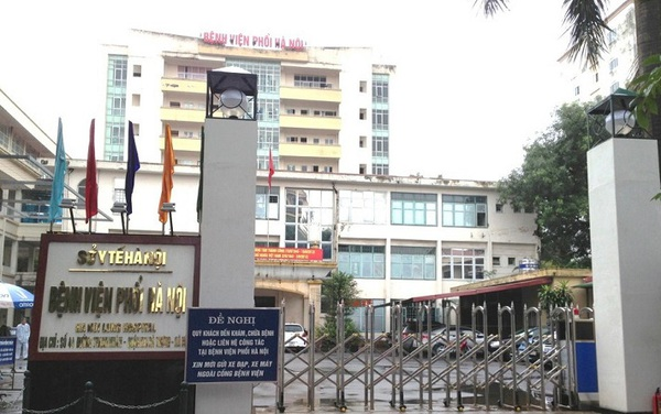 Phát hiện 14 trường hợp dương tính, Bệnh viện Phổi Hà Nội dừng tiếp bệnh nhân