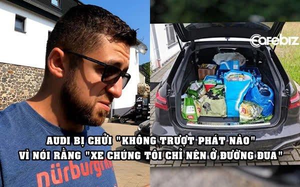 Audi gây phẫn nộ khi trách YouTuber đem xe hãng cho mượn đi cứu trợ lũ lụt: 'Xe của chúng tôi nên chạy ở đường đua'