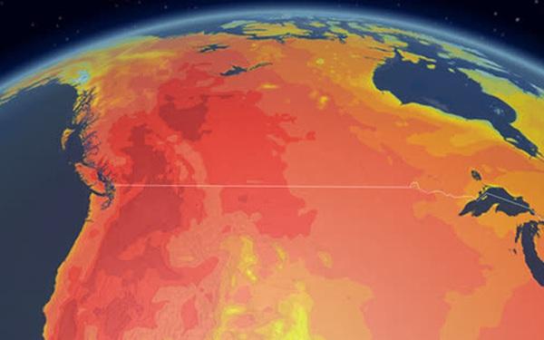 """Giải mã hiện tượng """"vòm nhiệt"""" trong những ngày nắng nóng chết chóc đang xảy ra ở Tây Bắc Mỹ"""