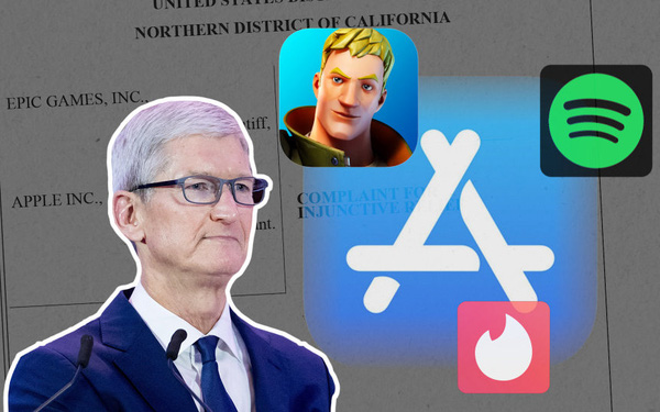 Tòa án chính thức ra phán quyết yêu cầu Apple thêm tuỳ chọn cổng thanh toán trên App Store, khoản hoa hồng 'cắt cổ' 30% mang về hàng tỷ USD mỗi năm 'không cánh mà bay'