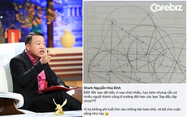 Đăng 1 câu đố toán học nhưng đáp án của Shark Bình lại khiến cộng đồng mạng dậy sóng: Chơi nhiều học kém vẫn thành công, bởi không phí công học Toán khó?