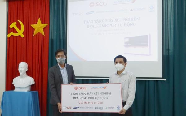 Tập đoàn SCG và Hóa dầu Long Sơn hỗ trợ hệ thống xét nghiệm real-time PCR tự động cho tỉnh Bà Rịa – Vũng Tàu