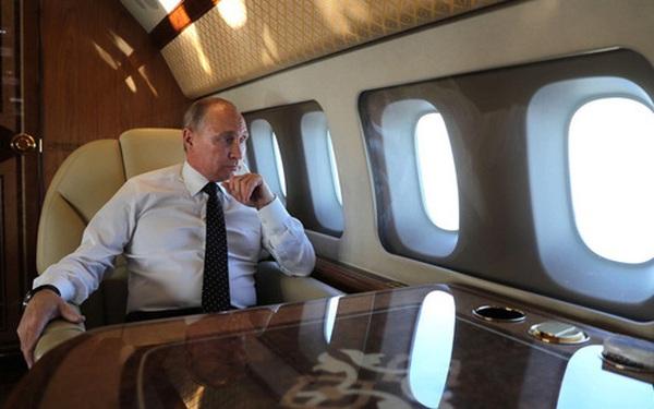 Quy tắc đi máy bay của TT Putin khiến báo giới Trung Quốc bất ngờ: Bí mật an ninh được hé lộ