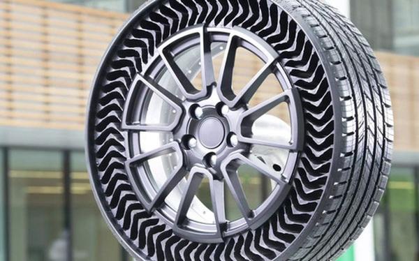 Michelin giới thiệu lốp xe không hơi, nỗi lo thủng lốp, xịt hơi vĩnh viễn không còn nữa