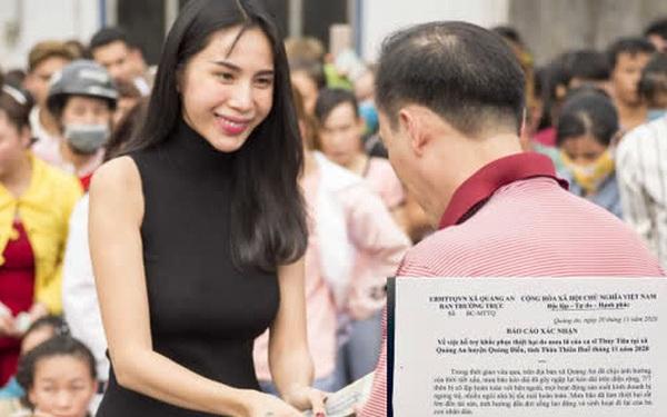 """Chính quyền địa phương lên tiếng về những """"điểm bất thường"""" trong loạt giấy tờ của vợ chồng Thuỷ Tiên, Công vinh"""