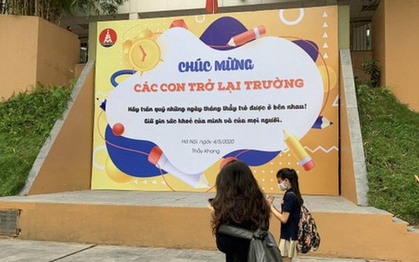 Khi nào học sinh Hà Nội được trở lại trường học?