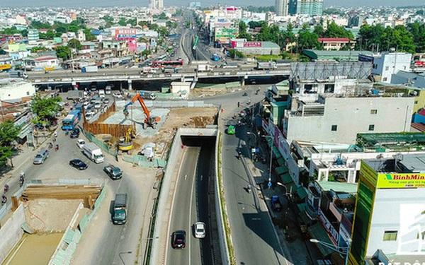 Nhiều dự án giao thông tại Tp.HCM ngừng thi công do vướng giải phóng mặt bằng