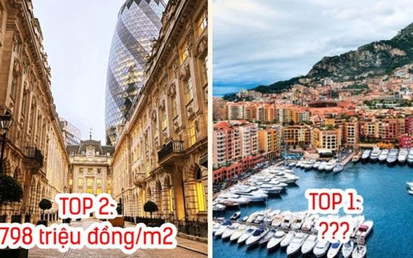 8 nơi có giá nhà ở đắt nhất thế giới: Tại địa điểm đứng Top 1, tiền tỷ mới mua được 1m2 đất
