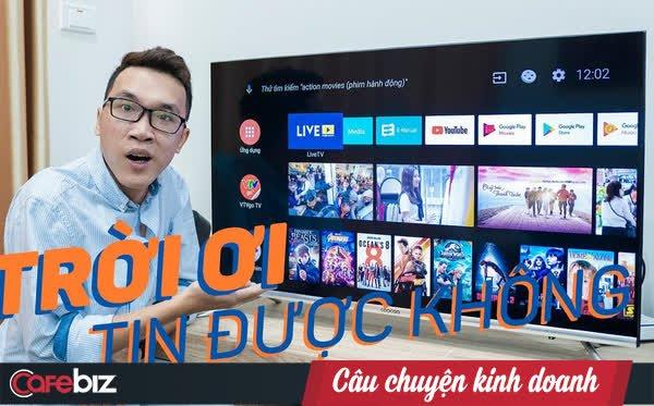 """""""Tân binh"""" SmartTV đến từ Trung Quốc coocaa đã làm gì ở thị trường Việt Nam để tăng trưởng tới 580% trong năm 2020?"""