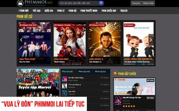 """Không hổ danh """"vua lì đòn"""", phimmoi.net bất ngờ xuất hiện trở lại với tên miền mới?"""