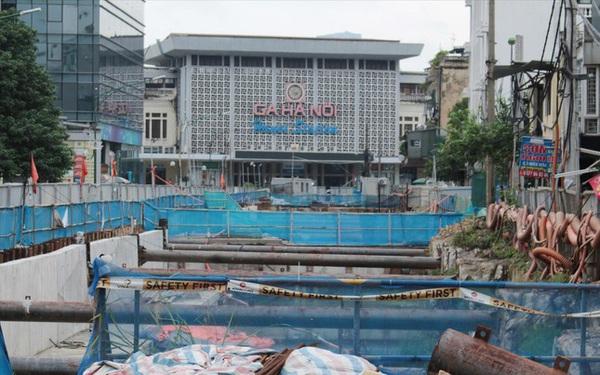 Ga ngầm metro Nhổn - ga Hà Nội: Vì sao nhà thầu nước ngoài dừng thi công?