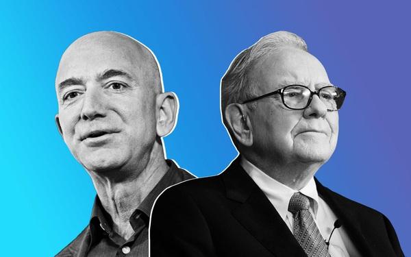 Bí mật về công thức tích trữ tài sản của Jeff Bezos và Warren Buffett