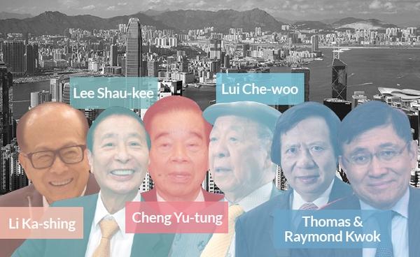 Mọi chi tiêu hàng ngày của người Hong Kong đều chảy về tay 5 ông trùm