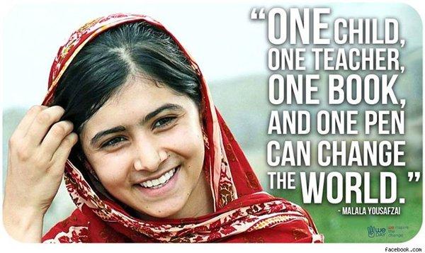 Chủ nhân Nobel Hòa Bình Malala Yousafzai: Quá phi thường khi còn quá trẻ
