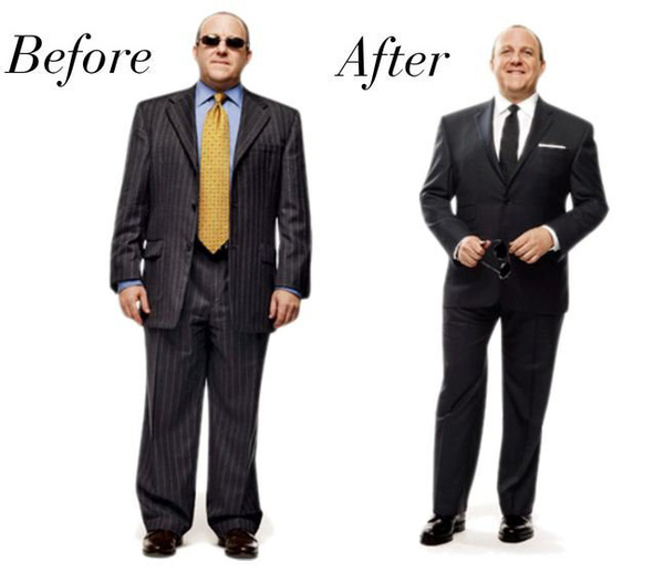 3 quy tắc vàng chọn đồ cho quý ông có cân nặng 'quá khổ'