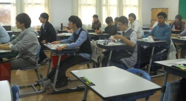 Căng thẳng như thi đại học ở Hàn Quốc