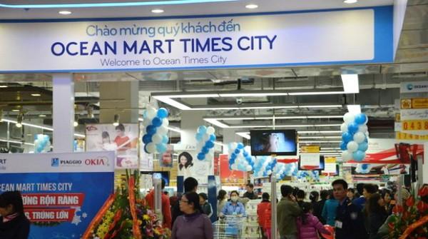 Vingroup mua lại Ocean Mart, đổi tên thành VinMart