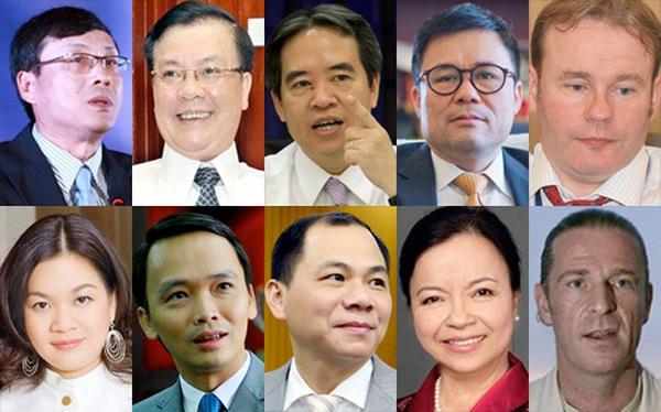 Những nhân vật ảnh hưởng lớn chứng khoán Việt năm qua