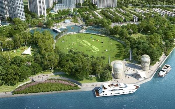 Công viên ven sông lớn nhất Tp.HCM hoàn thành năm tới
