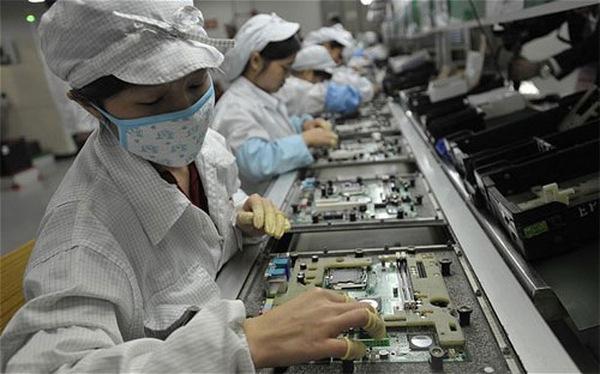 Trung Quốc: Lương tăng chóng mặt so với châu Âu