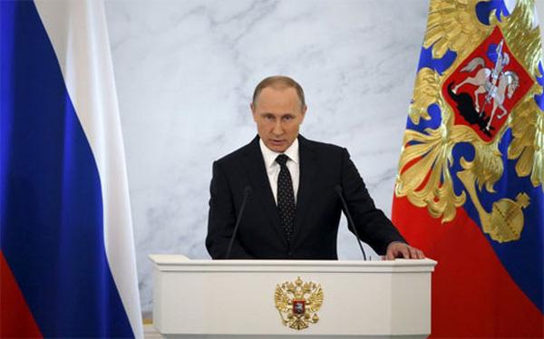 Putin nhắc đến Việt Nam trong thông điệp liên bang