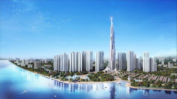 Hình ảnh toà nhà Landmark 81 cao nhất Việt Nam