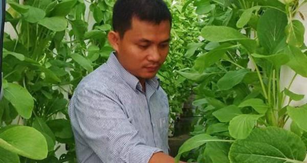 Gã 'khùng' 8X vay tiền 'xã hội đen' trồng rau sạch