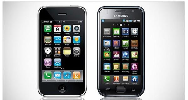 Samsung bị buộc phải ngừng việc sao chép iPhone