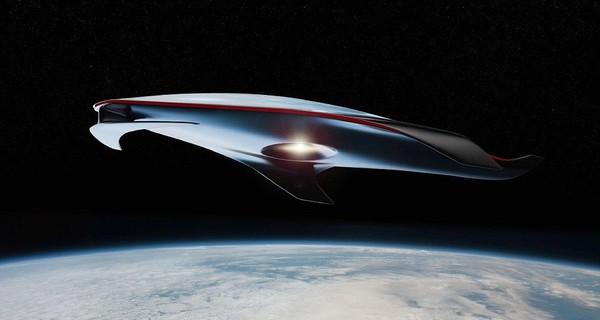 Siêu phi thuyền đẹp nhất thế giới lấy cảm hứng từ siêu xe Ferrari