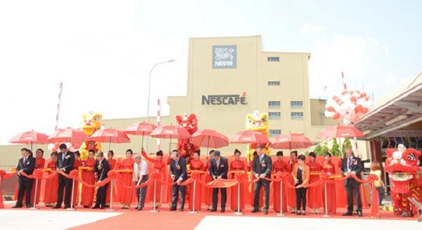 Nestlé khánh thành nhà máy sản xuất hạt cà phê khử caffeine trị giá 80 triệu USD