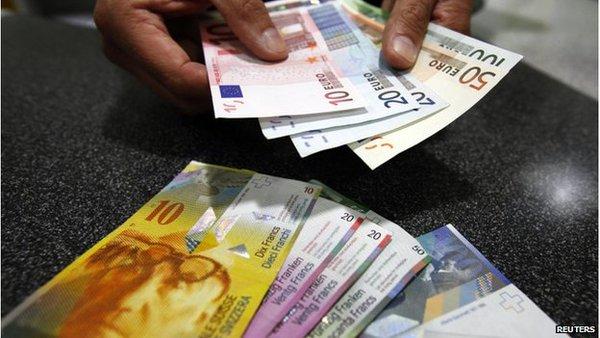 Tại sao gỡ bỏ trần tỉ giá lại là lối thoát của ngân hàng Thụy Sĩ?