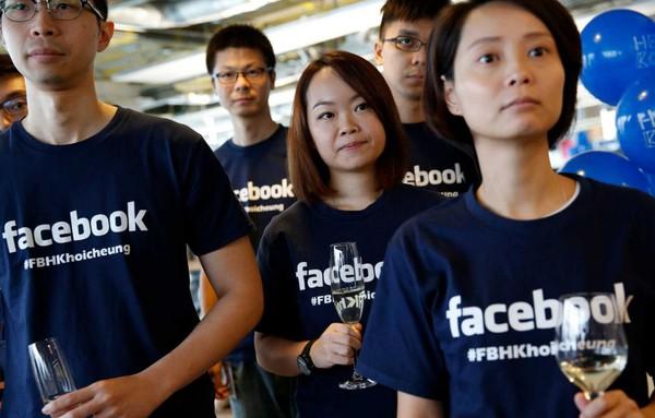 Giá trị thị trường Facebook lần đầu tiên vượt Walmart
