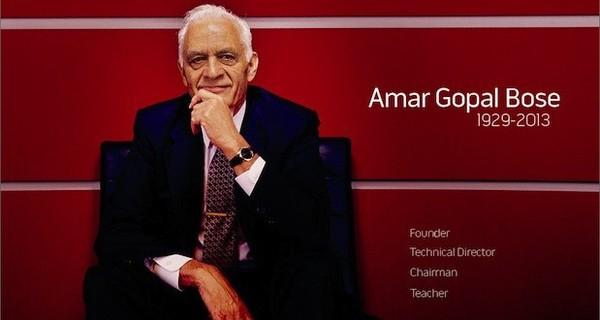 Amar G.Bose: Từ thợ sửa radio đến ông chủ hãng loa tỉ đô
