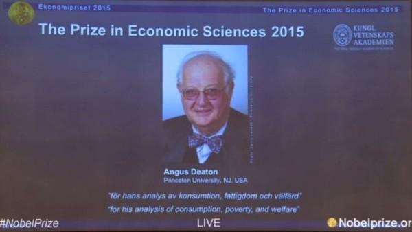 Giáo sư đại học Princeton đoạt giải Nobel Kinh tế 2015