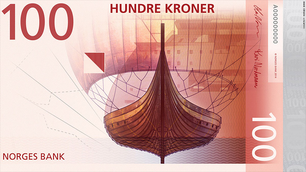 Na Uy tung ra mẫu thiết kế tiền giấy đẹp như tranh nghệ thuật