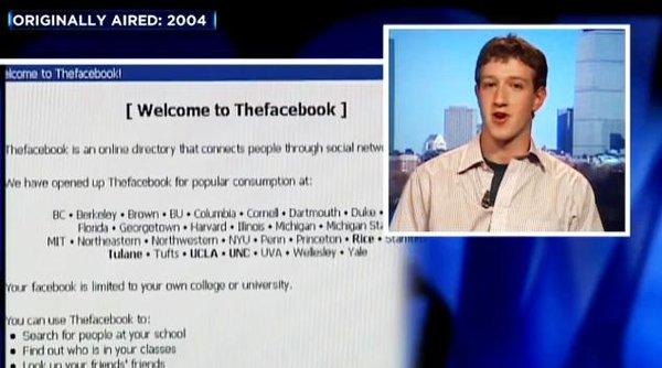Mark Zuckerberg đã nói gì sau khi Facebook cán mốc 100.000 người dùng?