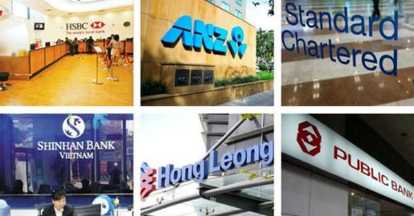 Điểm danh 6 ngân hàng 100% vốn ngoại tại Việt Nam
