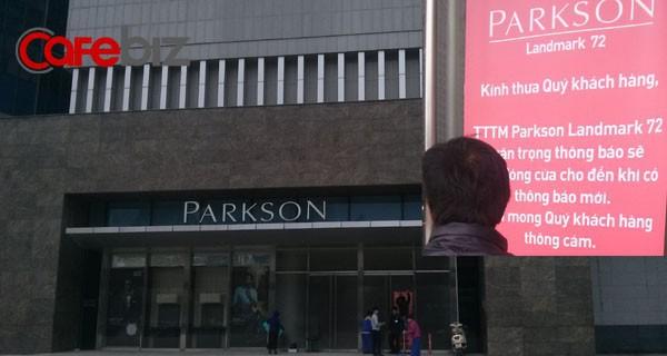 Đến hẹn mở cửa, Parkson Keangnam lại thông báo đóng cửa vô thời hạn