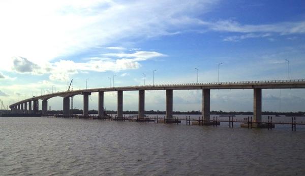 Thông xe cầu Mỹ Lợi, từ TP.HCM đi Tiền Giang còn 25km
