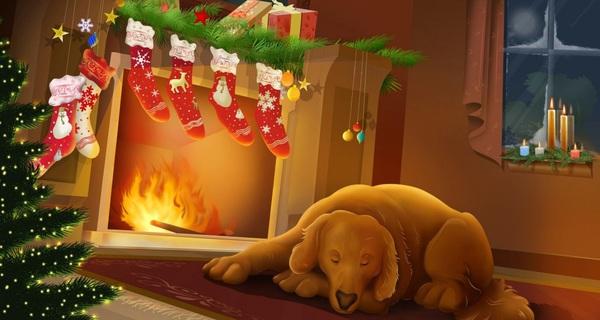 Vì sao có nghi thức truyền thống treo vớ gần lò sưởi dịp Giáng Sinh?