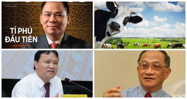 """[Nổi bật] Ông chủ Vingroup tiếp tục trong danh sách giàu nhất thế giới, """"Hộp sữa"""" Vinamilk bự cỡ nào?"""