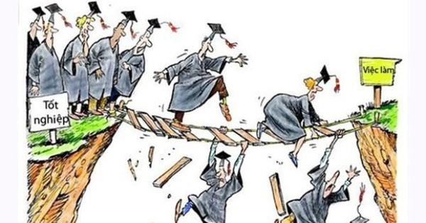 Cử nhân thất nghiệp tràn lan, Bộ Giáo dục bắt hệ cao đẳng, trung cấp giảm tuyển sinh
