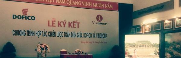 Vingroup bắt tay với 'ông lớn' thực phẩm Dofico
