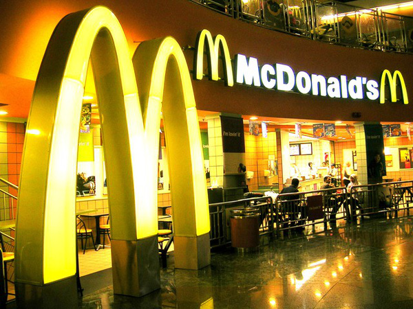 """McDonald's gặp """"thảm cảnh"""""""