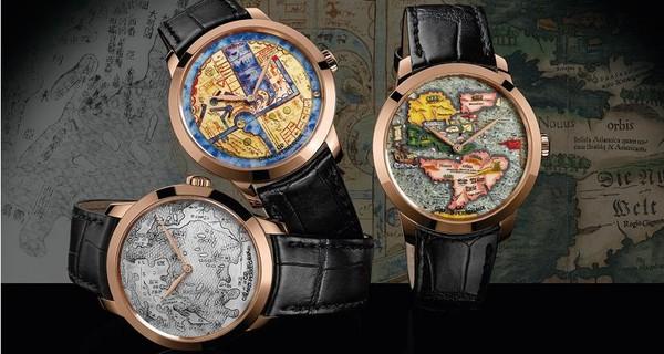 Những chiếc đồng hồ vẽ lại cả thế giới