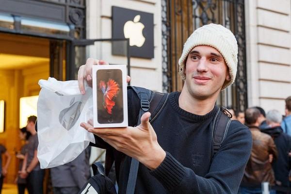 """iPhone 6s bản màu """"hường"""" chiếm 40% tổng lượng đặt hàng iPhone mới"""