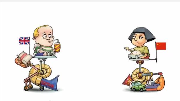 Kinh tế qua hoạt hình: Thương mại - cuộc chơi của những đứa trẻ