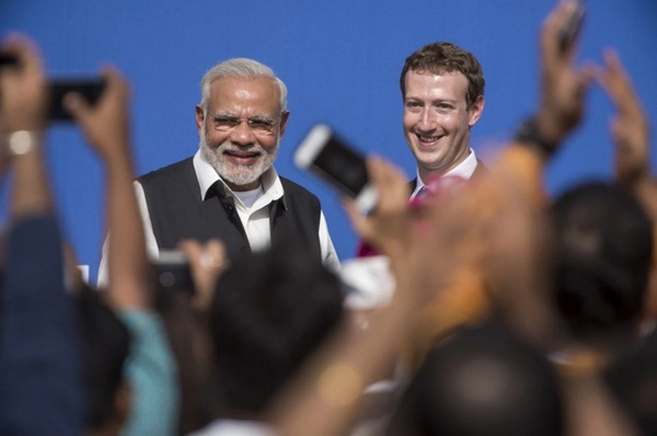 Vì sao thủ tướng Ấn Độ khóc tại trụ sở Facebook?